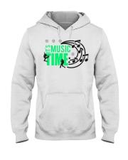 Its Music Time Hooded Sweatshirt thumbnail