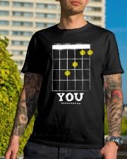 F You Classic T-Shirt lifestyle-mens-crewneck-front-8