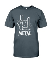 Metal Sign Classic T-Shirt front