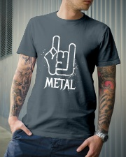 Metal Sign Classic T-Shirt lifestyle-mens-crewneck-front-6