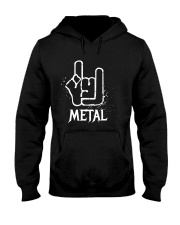 Metal Sign Hooded Sweatshirt tile