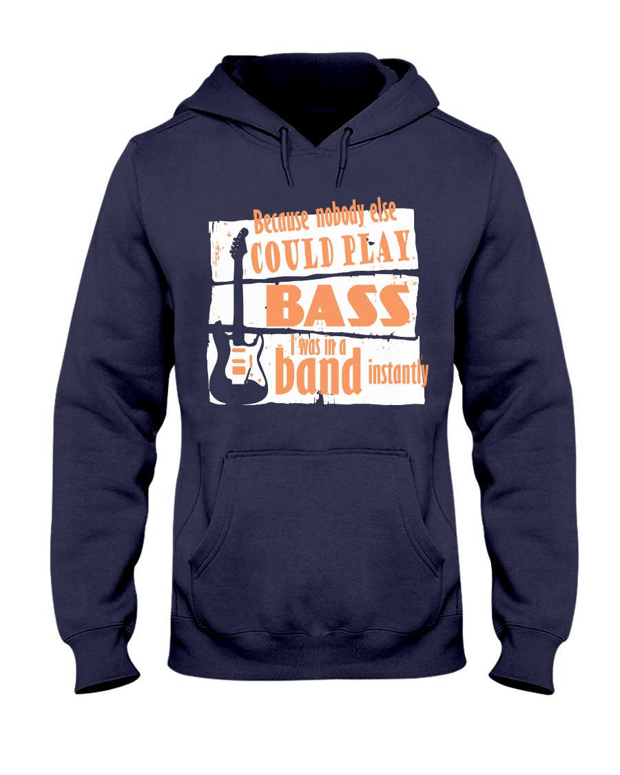 Bass in a Band Hooded Sweatshirt