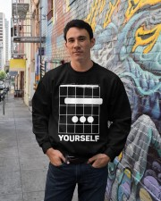 B Yourself Crewneck Sweatshirt lifestyle-unisex-sweatshirt-front-2