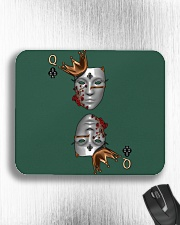 Queen of Clubs 3d Design Mousepad aos-mousepad-front-lifestyle-4