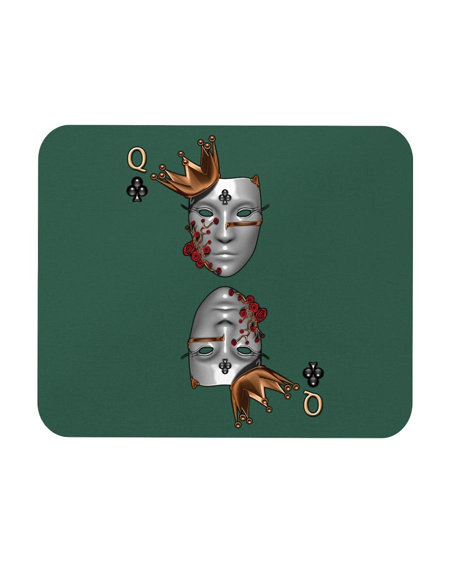 Queen of Clubs 3d Design Mousepad