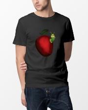 Caterpillar and Apple Classic T-Shirt lifestyle-mens-crewneck-front-14
