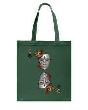 Queen of Clubs 3d Design Tote Bag front