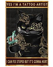 CAT TATTOO poster Limited Edition 24x36 Poster front