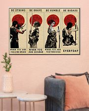 Women Samurai Poster Limited Edition 36x24 Poster poster-landscape-36x24-lifestyle-18
