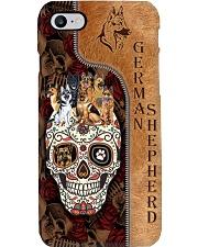 german shepherd skull case Phone Case i-phone-8-case
