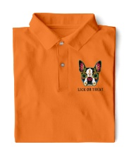 BOSTON TERRIER Lick Or Treat  Classic Polo front