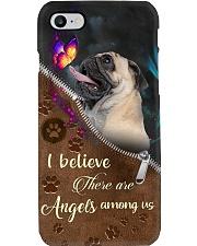 Pug Angel Phone Case i-phone-8-case
