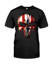 England-UK Skull Classic T-Shirt front