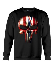 England-UK Skull Crewneck Sweatshirt tile