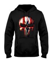 England-UK Skull Hooded Sweatshirt tile