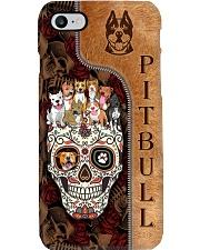 PITBULL SKULL CASE Phone Case i-phone-8-case