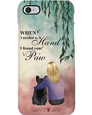 GIRl-DOG I Found Your Paw Phonecase DHL-24TQ001 Phone Case i-phone-8-case
