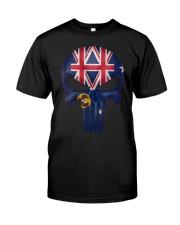 South Australia-Australia Skull Classic T-Shirt front