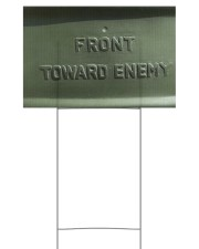 Limited Edition 18x12 Yard Sign back