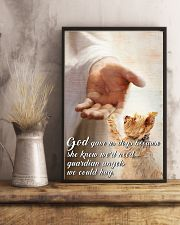 God Gave Yorkshire 24x36 Poster lifestyle-poster-3