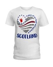 Scotland Ladies T-Shirt tile