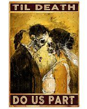TIL DEATH DO US APART poster Limited Edition 24x36 Poster front