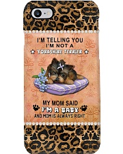 yorkshire terrier baby Phone Case i-phone-8-case