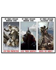 Spirit of the true warrior poster limited edition 36x24 Poster front