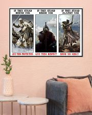 Spirit of the true warrior poster limited edition 36x24 Poster poster-landscape-36x24-lifestyle-18