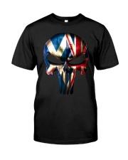 Scotland-UK Skull Classic T-Shirt front