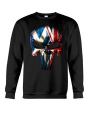 Scotland-UK Skull Crewneck Sweatshirt tile