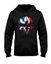 Scotland-UK Skull Hooded Sweatshirt tile
