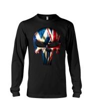 Scotland-UK Skull Long Sleeve Tee tile