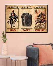Knights Templar Poster Limited Edition 36x24 Poster poster-landscape-36x24-lifestyle-18
