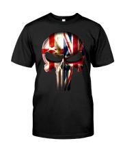 Northern Ireland-UK Skull Classic T-Shirt front