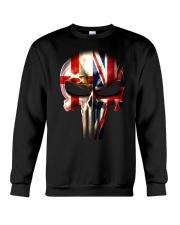 Northern Ireland-UK Skull Crewneck Sweatshirt tile