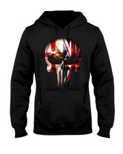 Northern Ireland-UK Skull Hooded Sweatshirt tile
