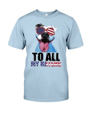 To All MyHaters Pitbull Dog T-shirt Classic T-Shirt tile