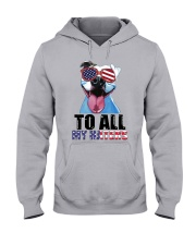 To All MyHaters Pitbull Dog T-shirt Hooded Sweatshirt tile