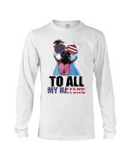 To All MyHaters Pitbull Dog T-shirt Long Sleeve Tee tile