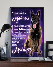 I know I'm just a Malinois 24x36 Poster lifestyle-poster-2