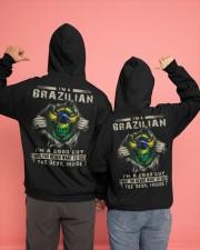 BRAZILIAN Hooded Sweatshirt apparel-hooded-sweatshirt-lifestyle-back-135