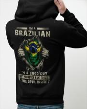 BRAZILIAN Hooded Sweatshirt apparel-hooded-sweatshirt-lifestyle-back-47