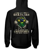 BRAZILIAN Hooded Sweatshirt back