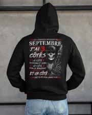 Les Légendes Naissent En Septembre Hooded Sweatshirt apparel-hooded-sweatshirt-lifestyle-back-162