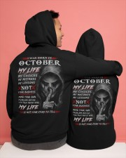 October Hooded Sweatshirt apparel-hooded-sweatshirt-lifestyle-back-134
