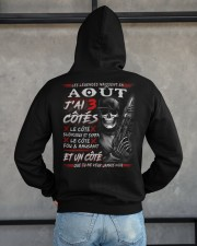 Les Légendes Naissent En Août Hooded Sweatshirt apparel-hooded-sweatshirt-lifestyle-back-162