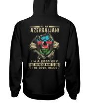Azerbaijani Hooded Sweatshirt back
