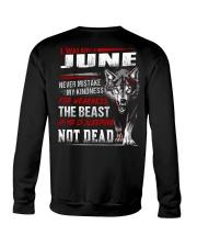 I was born in June Crewneck Sweatshirt tile