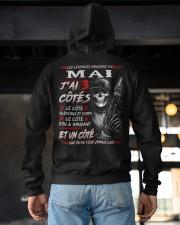 Les Légendes Naissent En Mai Hooded Sweatshirt apparel-hooded-sweatshirt-lifestyle-back-163